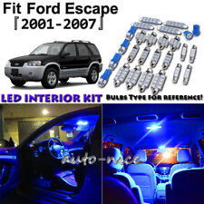 11x Blue LED Interior Lights Package Kit For 2001 - 2005 2006 2007 Ford Escape