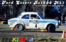 Belkits FORD ESCORT RS1600 Mk1 Clark 1972 RAC RALLY 1:24 Kit Construcción Art