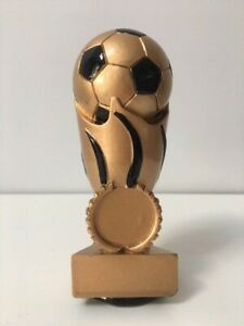 Ball Football World Cup Trophy Award 120mm  - Free Engraving