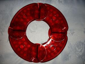 "Velou ""18-tlg. Blumengesteck Set Vario 5 - in Rot"" Deko Schale Pflanzen NEU/OVP"