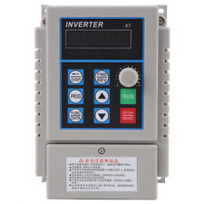 5A Single Phase 3PH Variable Speed Drive Frequency Converter 220V 0.75KW ams