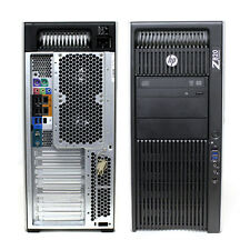 HP Z820 Workstation 2x E9D26US E5-2690 32GB RAM 4TB HDD Windows 10