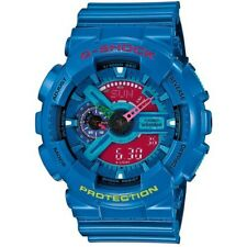 Casio G-Shock GA110 Series Analog-Digital Hyper Color Blue x Pink Dial Watch