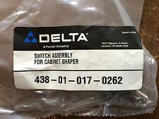 Delta Reversing Switch for Cabinet Shaper 43-355 T1 p/n 438010170262