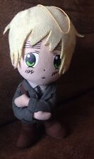 "Hetalia England Plush Doll Stuffed 8"" Toy #GG73"