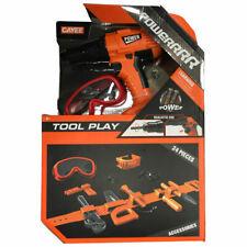 Otto Simon Tool Play Power Kinder-Werkzeug-Set + Extra LED Licht + Schutzbrille