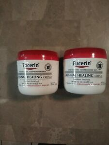 2x Eucerin Original Healing Creme 16 Oz Each