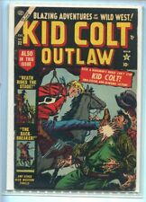 KID COLT OUTLAW #32 SOLID GRADE ACTION PACKED COVER GEM