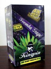 Kingpin Hemp Wraps Goomba Grape 25 Packs~4pk = 100 total~Factory Sealed
