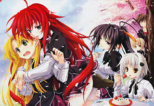 Poster A3 Highschool DxD Rias Gremory 06 Ecchi