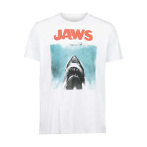 Jaws Movie T Shirt Steven Spielberg, New with tags, Free postage size 3XL
