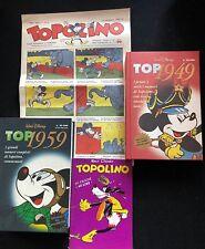 TOP1949-TOP1959+ristampa anastatica Topolino n.2 e Topolino Giornale n.1 [DOT]