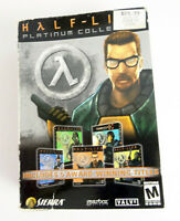 Half-Life: Platinum Collection PC Boxed 5-Disc Set Valve w/ Manual 2002 Complete