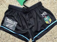 Cronulla Sharks X Blades Player Issue  Home Shorts  2018 Jersey  Nsw Origin Qld