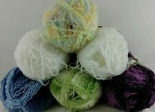 Rainbow Boucle Sensations Yarn Berry Blue Green White 11 oz 614 Yd Skein Discntd