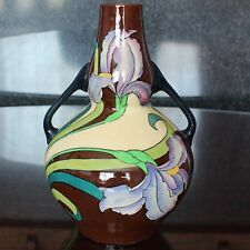 Wileman & Co The Foley INTARSIO Ware Twin Handled Vase, 3387