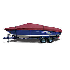 Tracker Pro Guide V-16 WT Fishing Boat Cover Burgundy Maroon