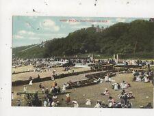 West Beach Southend On Sea 1906 Postcard 054b