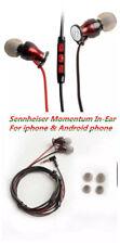 New Sennheiser Momentum In-Ear Headphone for Apple ios (shiraz red)