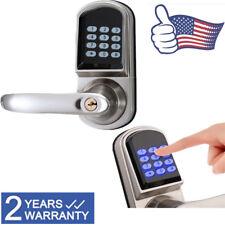 Digital Electronic Code Keyless Keypad Security Entry Door Lock Left ANSI Grade2