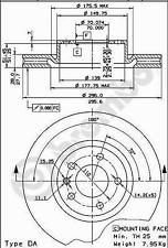 Disco de Freno (2 Piezas) Revestido Disc Line - Brembo 09.5749.11