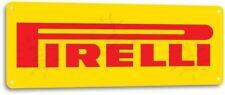 Pirelli Tire Gas Service Station Garage Retro Auto Wall Decor Metal Tin Sign