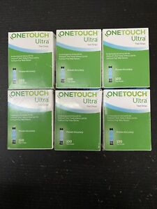 One touch Ultra Retail test strips. 600 Strips