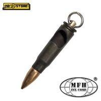 Portachiavi Proiettile Carabina AK-47 in Metallo con Apribottiglie Militare MFH