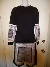 MENS ATHLETIC Long Sweat Shorts & Long sleeve shirt Matching 2pc set 21Men