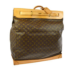 AUTH LOUIS VUITTON STEAMER 55 JUMBO TRAVEL HAND BAG MONOGRAM M41124 AK25506h