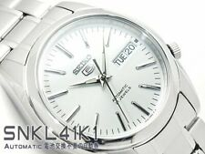 SEIKO 5 SNKL41 SNKL41K1 21 Jewels Automatic White Ready to Ship last one !