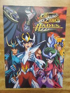 Caballeros del zodiaco Hades Album + stickers