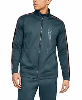 Under Armour Men's Unstoppable Track Jacket #1345611 Wire Grey Size Medium