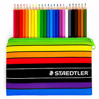 Staedtler - Noris Club - 24 x Staedtler 144 Colouring Pencils and Pencil Case