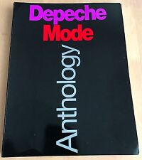 Depeche Mode Anthology Songs Book Rare Guitar Piano