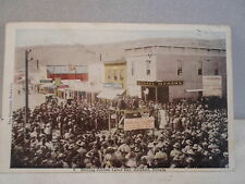 Goldfield Nv Nevada,Drilling Contest Labor Day, early postcard,  1909