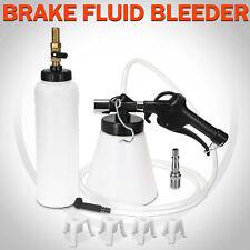 1L Air Brake Bleeder Kit Clutch Vacuum Bleeding Extractor Fluid Fill Adapters