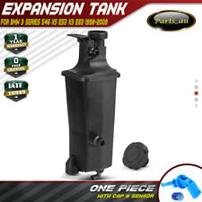 Radiator Coolant Expansion Tank for BMW E46 E53 E83 X3 X5 With Cap and Sensor