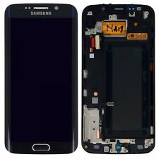 Pantalla LCD Juego Completo Táctil negro para Samsung Galaxy S6 EDGE G925F