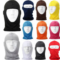 Full Face Mask lycra Balaclava Ultra-thin Motorcycle Cycling Ski Neck Protection