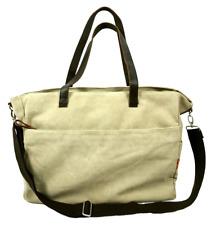 Large Canvas Tote Bag, Shopper, Travel, Shoulder Bag - Warm Beige