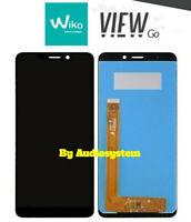 DISPLAY LCD+TOUCH SCREEN SCHERMO per WIKO VIEW GO W_P130 NERO VETRO RICAMBIO