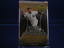 2005 Upper Deck MLB Artifacts HOBBY Pack Justin Verlander RC? Auto/Insert?