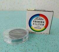 Vintage Toshiba Filter For Monochrome 39mm NOS