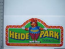 Aufkleber Sticker Heidepark Soltau - Freizeit Familien-Park (S1543)