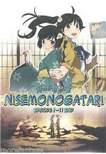 DVD Anime Nisemonogatari (TV 1-11 End) DVD + Free Gift