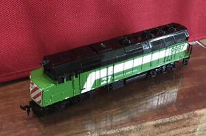 Vtg Life LIke HO Train Engine ~ Burlington Northern F40 Diesel~ Tested & Working