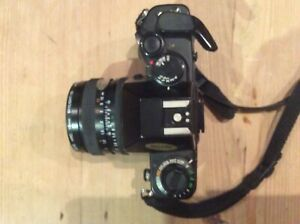 Contax 159mm Camera with Carl zeiss planar lens 1.7/50