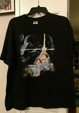 FAMILY GUY Star Wars XL T-shirt Princess Leia Carrie Fisher Luke Skywalker R2D2