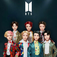 BTS OFFICAL Authentic Goods MATTEL IDOL Fashion Doll + Tracking Number